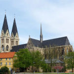 18 Halberstädter Dom - Station auf dem Jakobusweg Sachsen-Anhalt