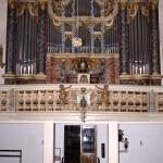 Prospekt der Rühlmann Orgel, St. Jakobi Kirche Hettstedt
