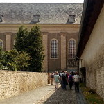 Abschließende Andacht in der Klosterkirche Egeln - Marienstuhl